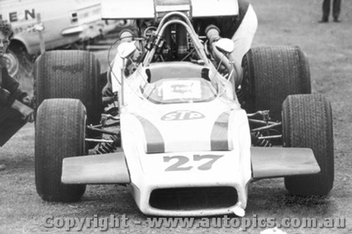 71607  -  Richie Galloway  Lola T190    Tasman Series 1971  Warwick Farm