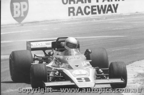 79606  -  J. Richards - Matich A53 Repco  -  Tasman Series 1979- Oran Park