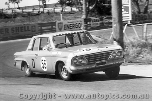 67711 - Weldon / Hall -  64 Studebaker - Bathurst 1967