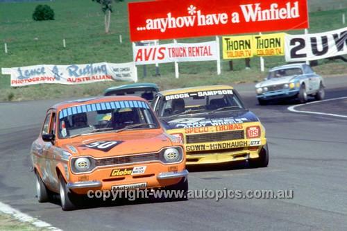 75723 - Bassett / Boord - Ford Escort RS2000 Bathurst 1975