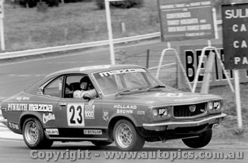 76731  -  D. Holland / L. Brown  -  Bathurst 1976 -  Class C  2nd Place - Mazda RX3