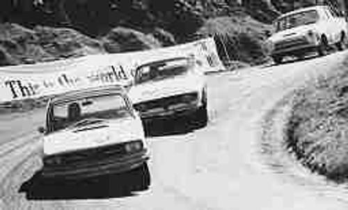 67721 - McKay / Reynolds Audi S90 - Chivas / Stewart Alfa Romeo GTV - MacKinnon / Smith Ford Cortina 1500 Bathurst 1967