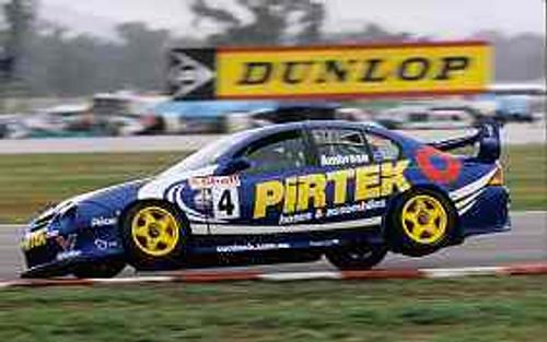 201225 - Marcos Ambrose - Ford Falcon - Winton 2001 - Photographer Craig Clifford