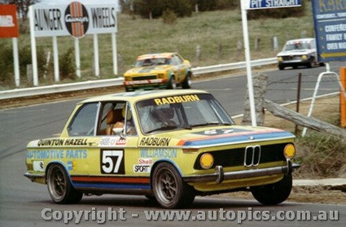 76737 - Radburn / Williamson  Bathurst 1976 - BMW2002Ti
