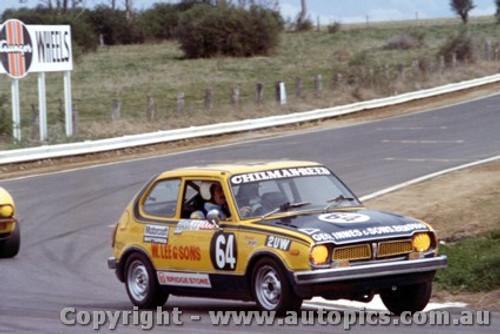 76738 - Reed / Chilman  bathurst 1976 honda Civic