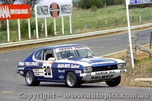 76736  -  R. Skaife / B. Potts  Ford Capri 13th Outright - Bathurst 1976 - Photographer Lance J Ruting