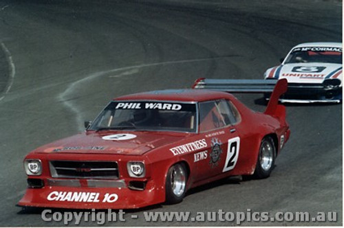 80010 - Phil Ward - Holden Monaro - Amaroo Park 1980