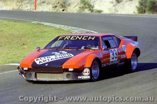 76403 - Rusty French - DeTomaso Pantera - Amaroo Park 1976
