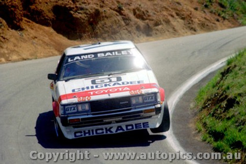81716 - Land / Bailey - Bathurst 1981 - Toyota Celica