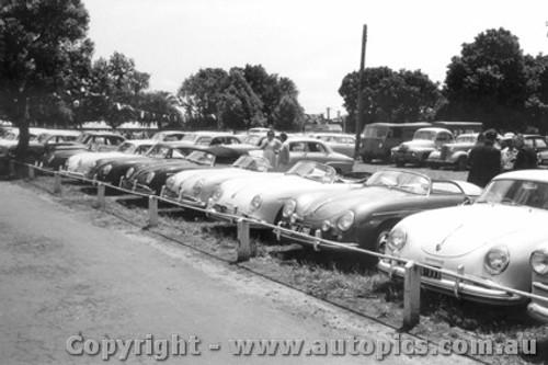 58401 - Porsche Car Park - Albert Park 1958