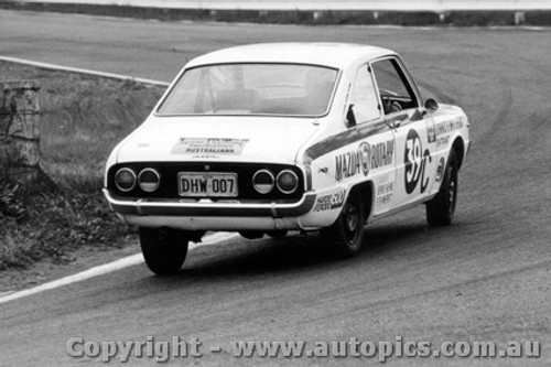 69728 - Haehnle / Wherrett Mazda R100 Coupe - Bathurst 1969