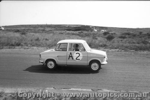 60704 - Walton / England / Clay - NSU - Armstrong 500 Phillip Island 1960