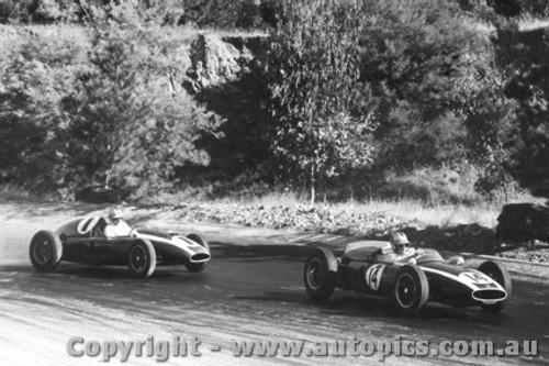 61507 - Brabham / Salvadori Cooper F1 - Hume Weir 1961