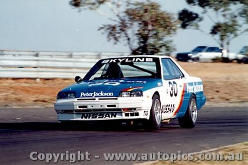 87006 -  G. Fury - Sandown 1987 - Nissan Skyline