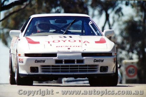 89718 - Smith / Price - Toyota Supra Turbo - Bathurst 1989