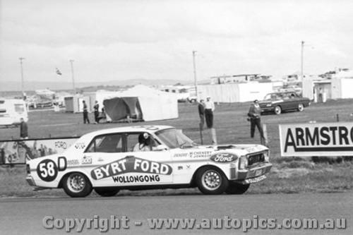 69730 - Chenery / Johnson - Ford Falcon GTHO - Bathurst 1969