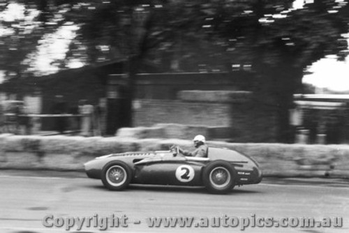 58511 - A. Glass  Ferrari - Albert Park 1958