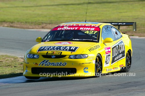 203051 - Nathan Petty, Holden Monaro CV8  - Wakefield Park June 2003 - Photographer Marshall Cass