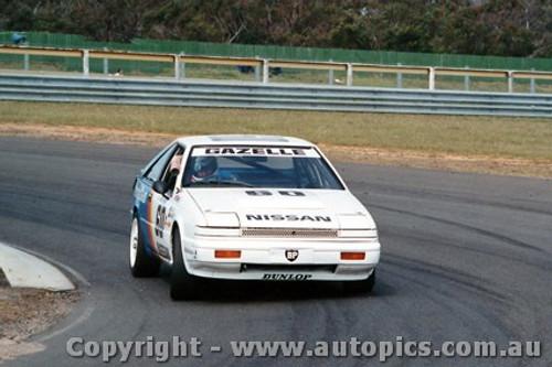 87007 - Mark Skaife Nissan Gazelle - Sandown  1987
