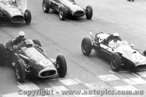 58517 - S. Jones Maserati 250F / J. Brabham  Cooper - Albert Park 1958