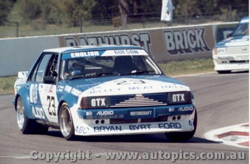 83729 - English / Gulson - Ford Falcon XD Bathurst 1983