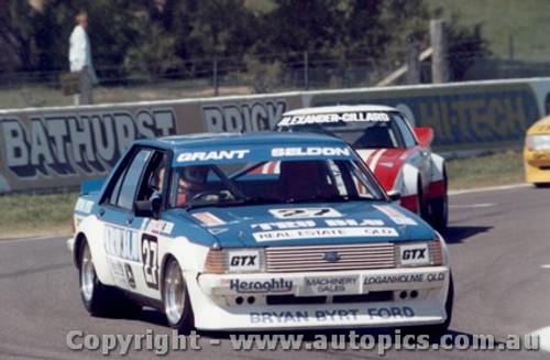 83730 - Grant / Seldon - Ford Falcon XD Bathurst 1983