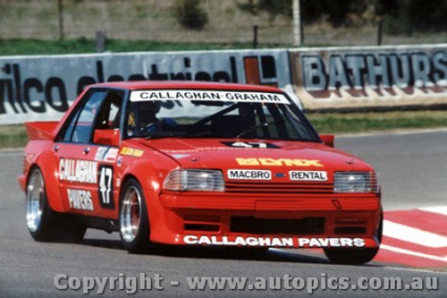 84729 - Callaghan / Graham - Ford Falcon XE Bathurst 1984