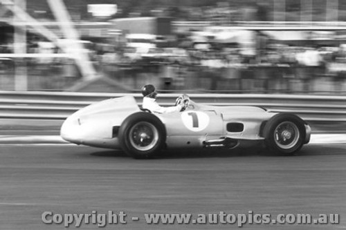 78507 - Juan Manuel Fangio - Mercedes W196 Silver Arrow - Sandown 1978