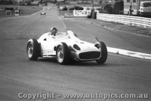 78508 - Juan Manuel Fangio - Mercedes W196 Silver Arrow - Sandown 1978