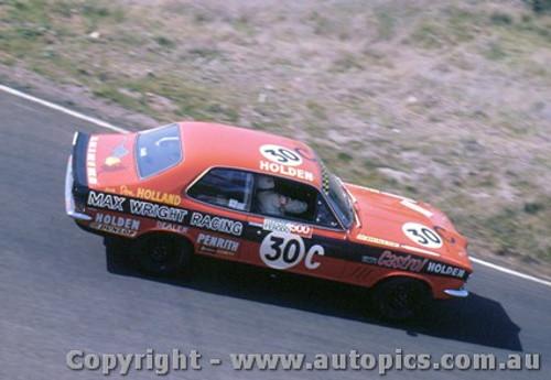 70723  -  D. Holland  -  Bathurst 1970 -3rd Outright & Class C Winner - Holden ToranaGTR XU1