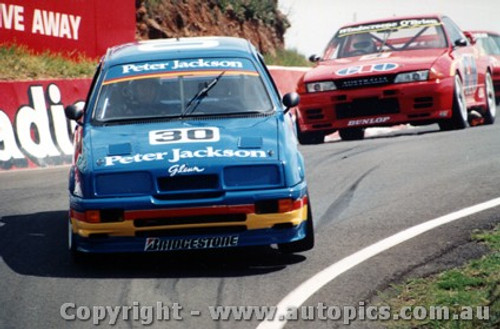 91721  -  G. Seton / G. Hansford  -  Bathurst 1991 - Ford Sierra RS500