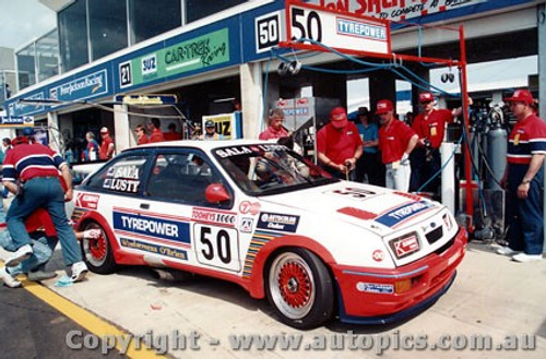 91724 - B. Sala / G. Lusty -  Bathurst 1991 - Ford Sierra RS500