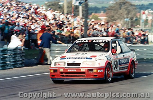 91725 - B. Sala / G. Lusty -  Bathurst 1991 - Ford Sierra RS500