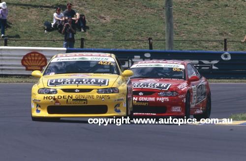 203061 -  Tander / Richards / Pretty / McConville  & Brock / Murphy / Bright / Kelly - Holden Monaro CV8 - Bathurst 24 Hour 2003