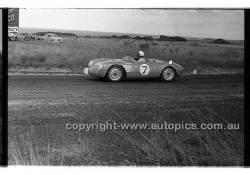 B. Pyers, Triumph TR2 - Phillip Island - 22nd April 1957 - Code 57-PD-P22457-011