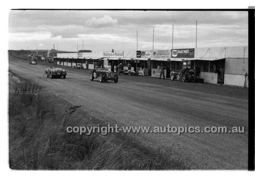 #20 J. Lanyon, MG TC - Phillip Island - 22nd April 1957 - Code 57-PD-P22457-013
