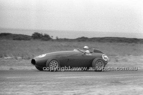 Len Lukey, Cooper Bristol - Phillip Island - 26th December 1958 - 58-PD-PI261258-040