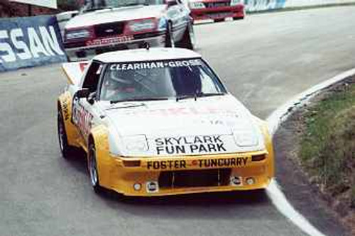 84731 - Clearihan / Grose  Mazda RX7 -  Bathurst 1984