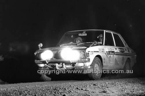Southern Cross Rally 1972 - Code -  72-SCross-4-018
