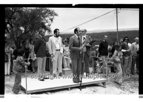 Southern Cross Rally 1976 - Code - 76-T91076-003