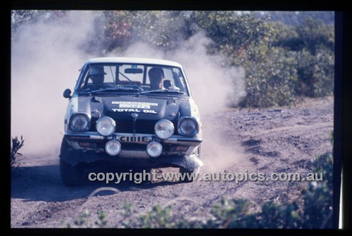 Castrol Rally 1976 - Code - 76-T-Castrol-007