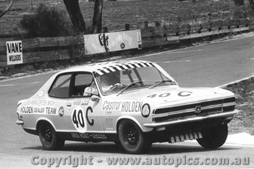 70727 - Peter Brock   Holden Torana LC XU1  - Bathurst  1970