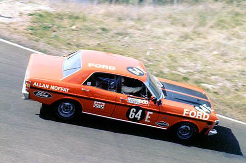 70729 - Allan Moffat XW Falcon GTHO Phase 2 - 1st Outright & Class E winner Bathurst 1970