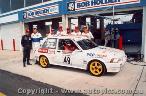 93721 - D. McMillan /  M. Martin / S. Martin Toyota Corolla GT - Bathurst 1993