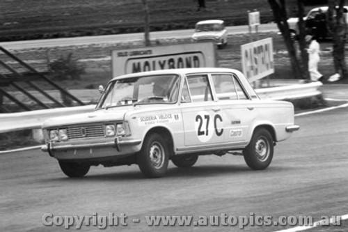68728 - Mike Kable / Ron Kearns Fiat 125 - Bathurst 1968
