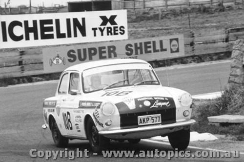 69740 - G. Campbell / G. Murphy Volkswagen VW 1600 De-Luxe - Bathurst 1969