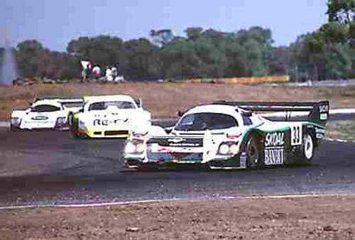 84419 - T. Boutsen / D. Hobbs Porsche 956T - Final Round of the World Sports Car Championship - Sandown 1984
