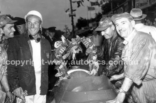 56524 - Stirling Moss Maserati 250F  - Australian Grand Prix  Albert Park 1956