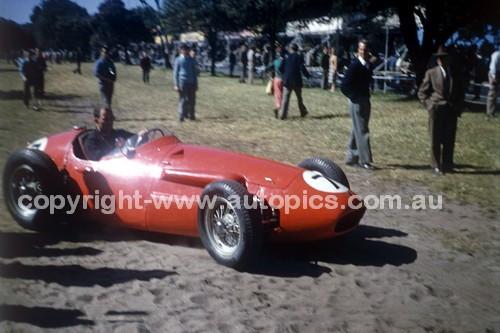 56525 - Stirling Moss Maserati 250F  - Australian Grand Prix  Albert Park 1956