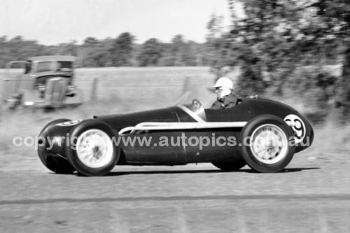 57004 - E. Gray, Tornado - 157.5 mph - National Speed Trials 28th September 1957 - Coonabarabran